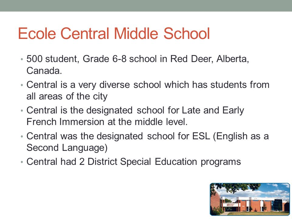 Ecole Central Middle School