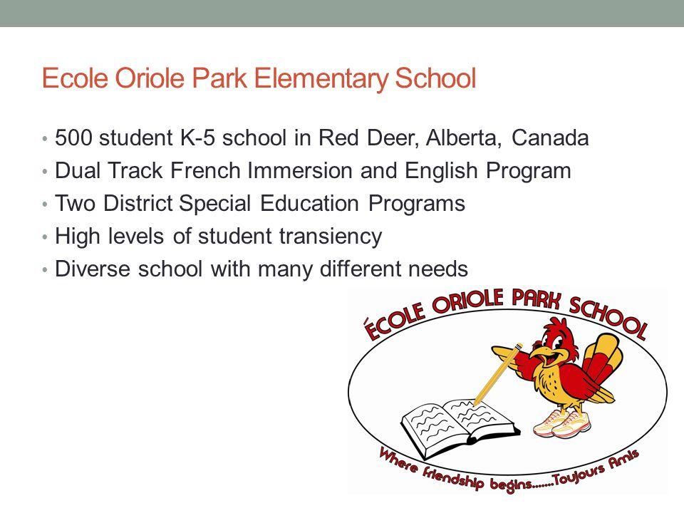 Ecole Oriole Park Elementary School