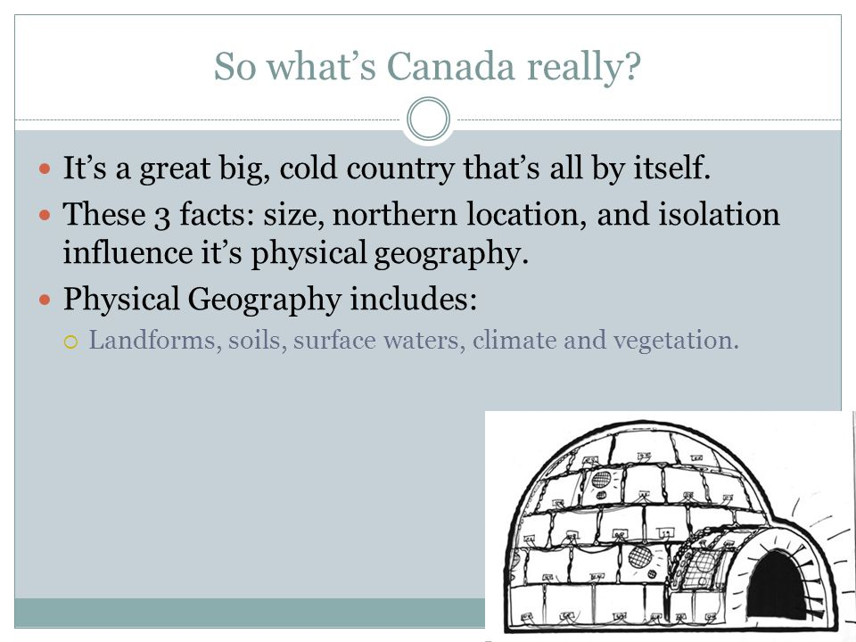 So what's Canada really