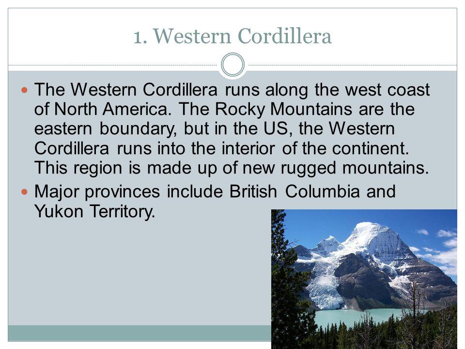 1. Western Cordillera