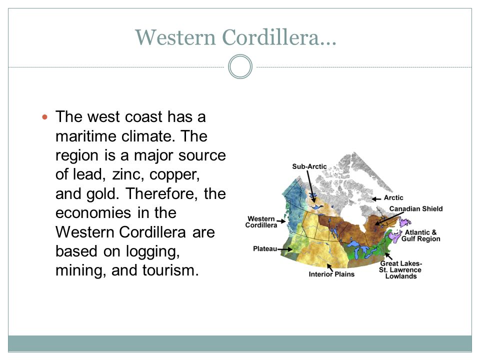 Western Cordillera…