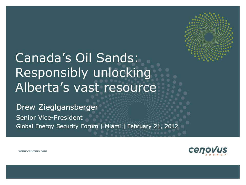 Canada's Oil Sands: Responsibly unlocking Alberta's vast resource
