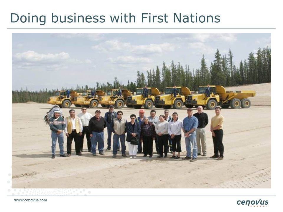 Doing business with First Nations