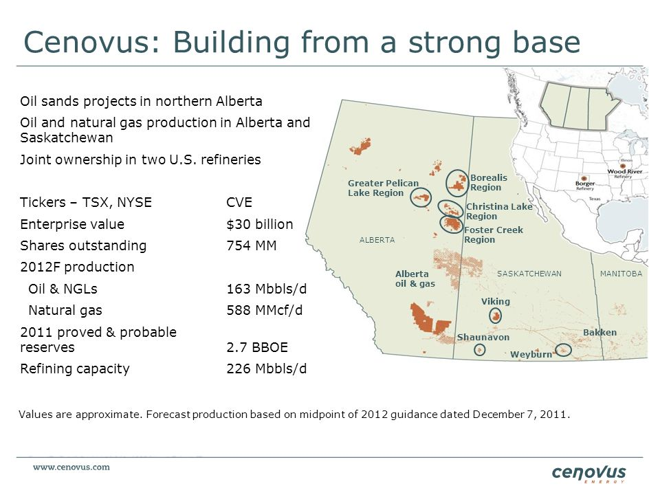 Cenovus: Building from a strong base
