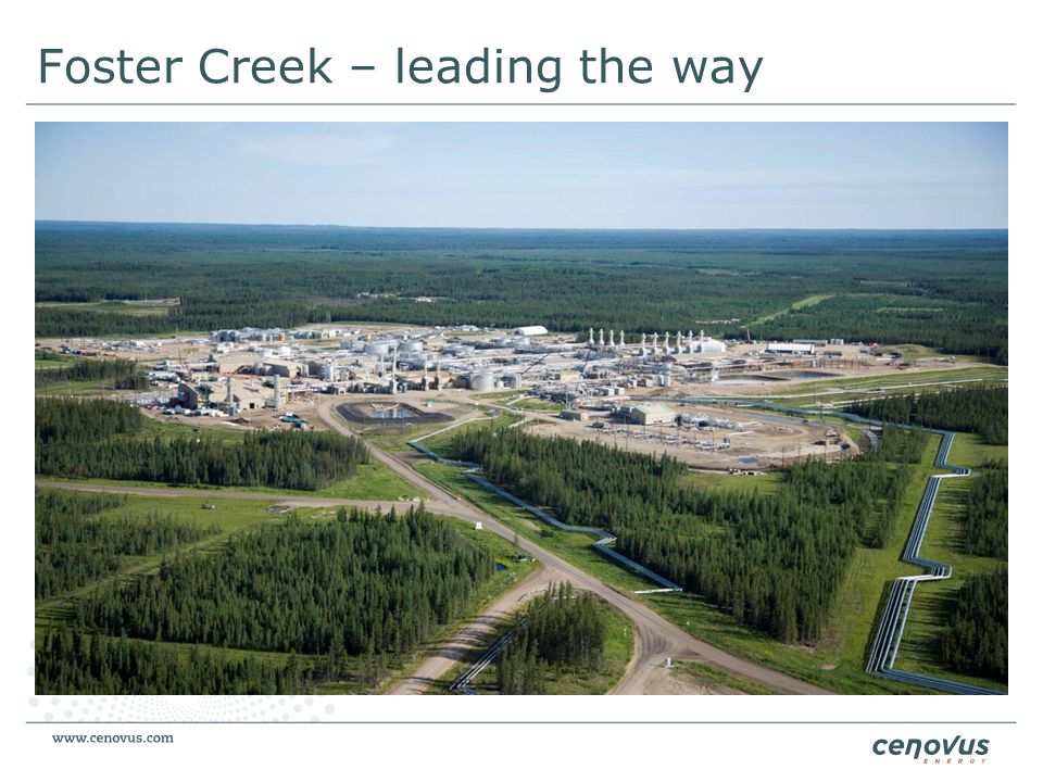 Foster Creek – leading the way
