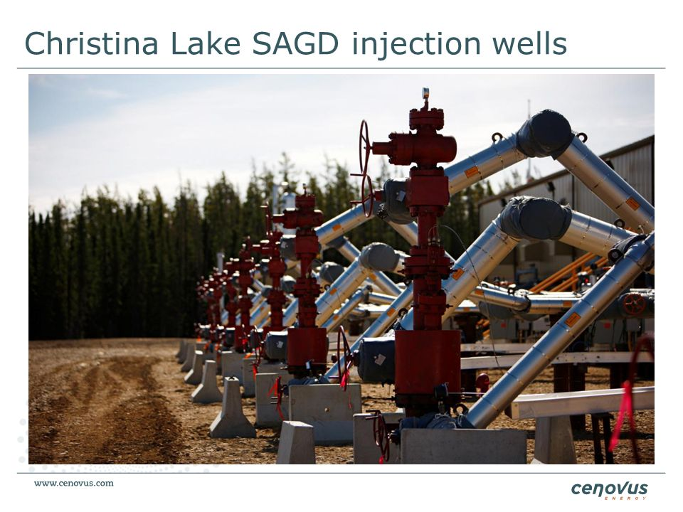 Christina Lake SAGD injection wells