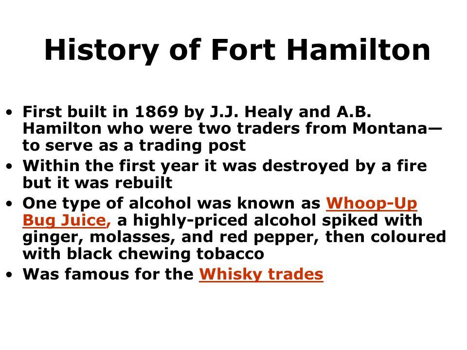 History of Fort Hamilton