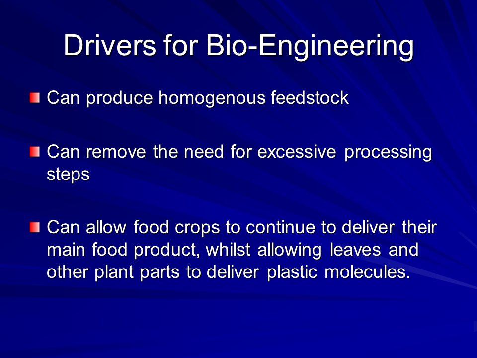 Drivers for Bio-Engineering