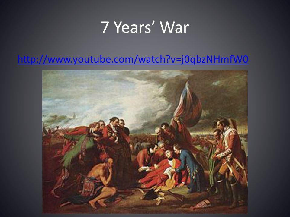 7 Years' War http://www.youtube.com/watch v=j0qbzNHmfW0