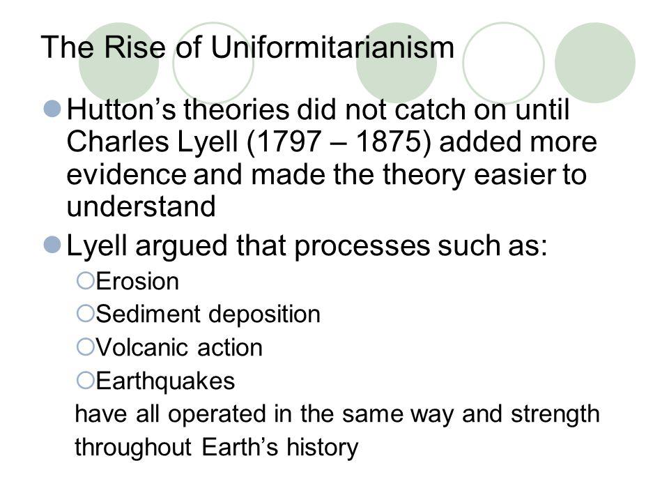 The Rise of Uniformitarianism