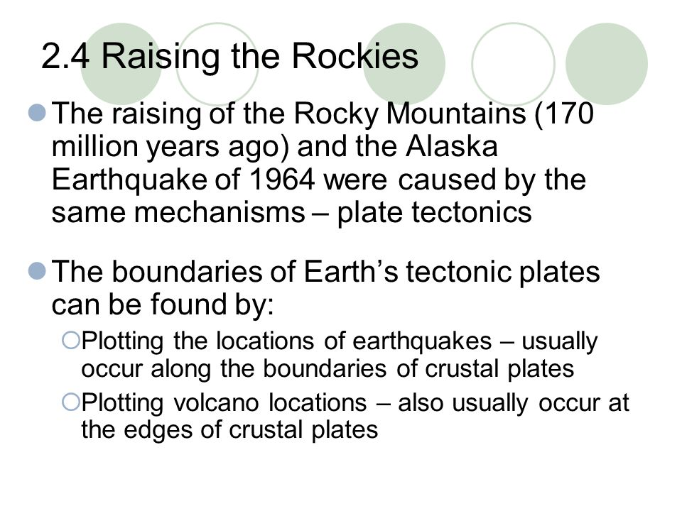 2.4 Raising the Rockies