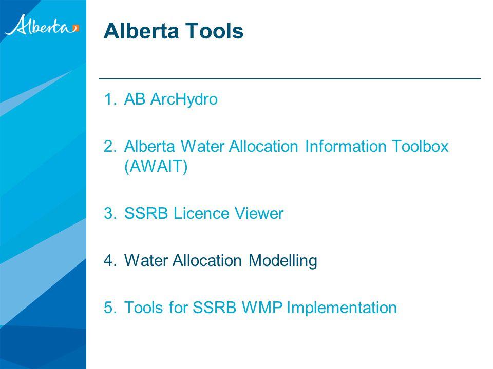 Alberta Tools AB ArcHydro