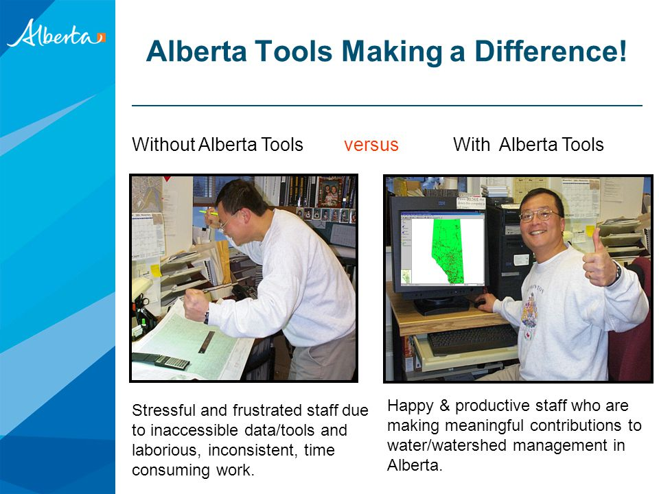 Alberta Tools Making a Difference!