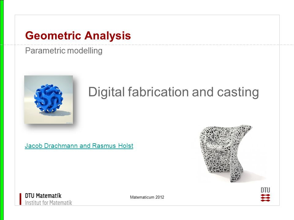 Digital fabrication and casting