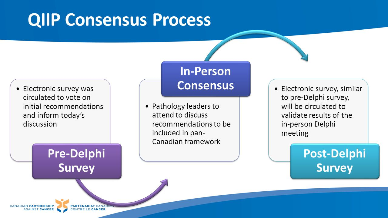 QIIP Consensus Process