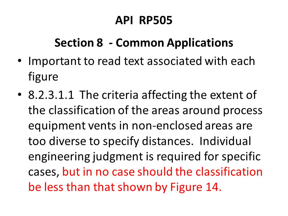 Section 8 - Common Applications