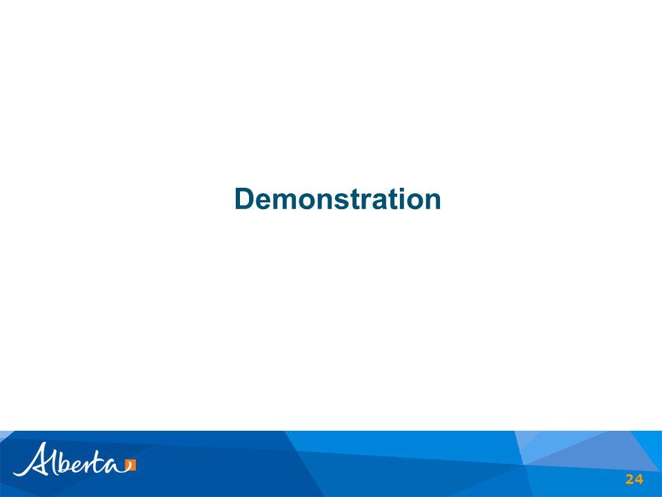 Demonstration 24