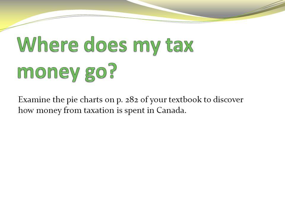 Where does my tax money go
