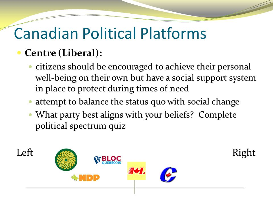 Canadian Political Platforms