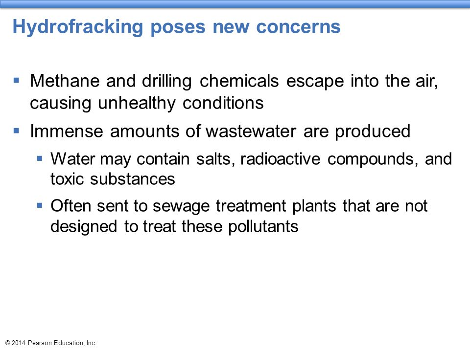 Hydrofracking poses new concerns