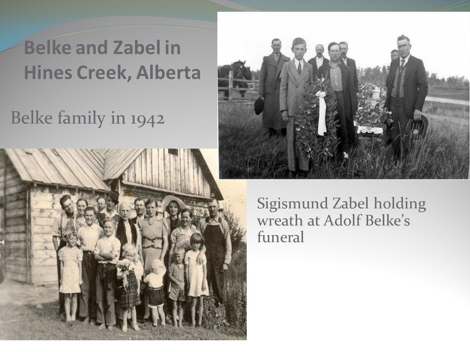Belke and Zabel in Hines Creek, Alberta