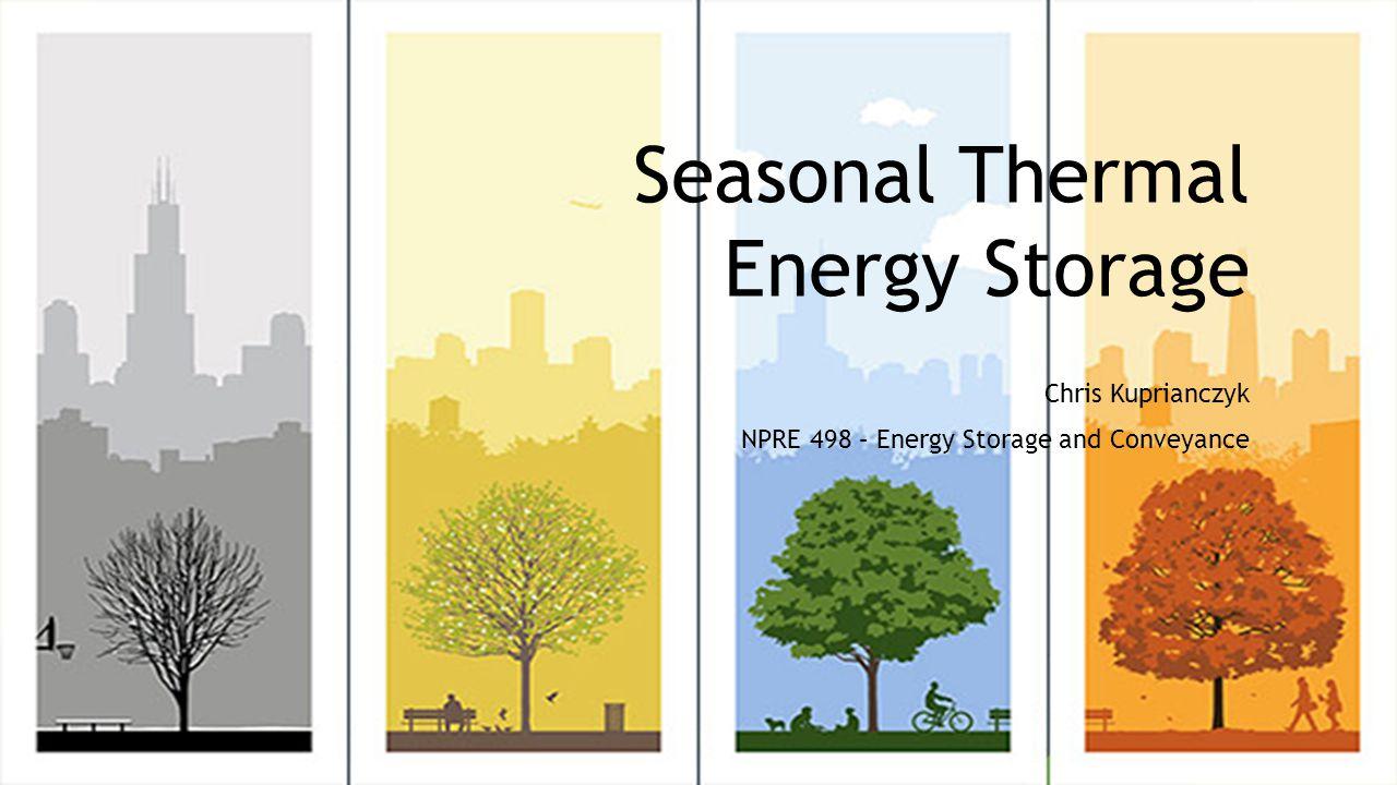 Seasonal Thermal Energy Storage