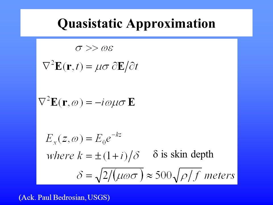 Quasistatic Approximation