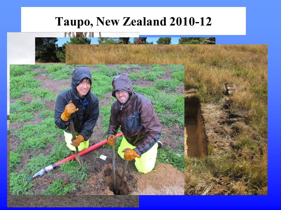 Taupo, New Zealand 2010-12