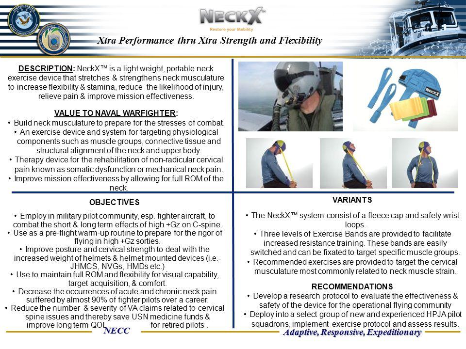 Xtra Performance thru Xtra Strength and Flexibility