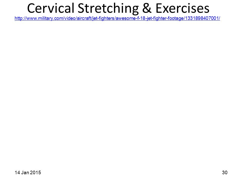 Cervical Stretching & Exercises