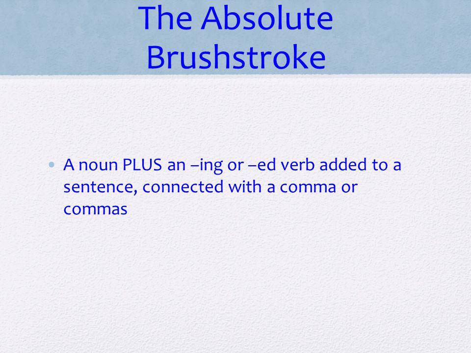 The Absolute Brushstroke