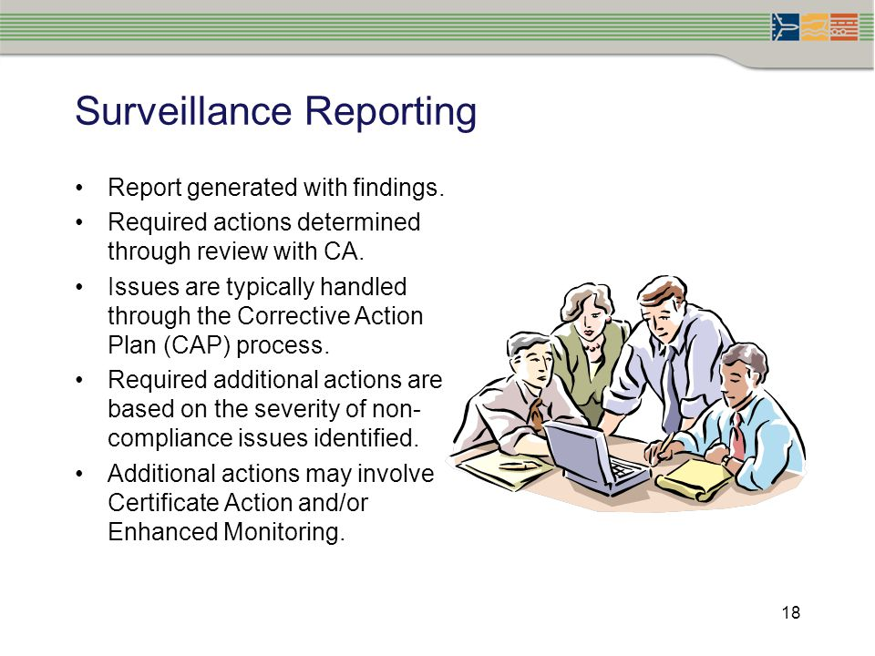 Surveillance Reporting