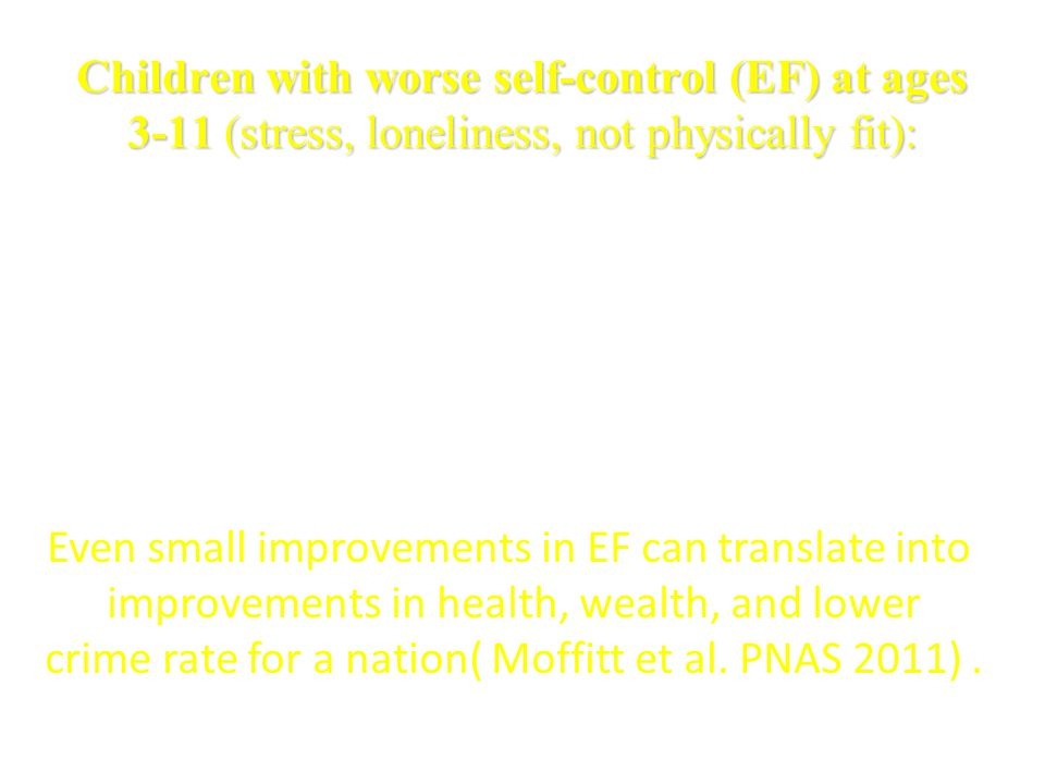 Even small improvements in EF can translate into