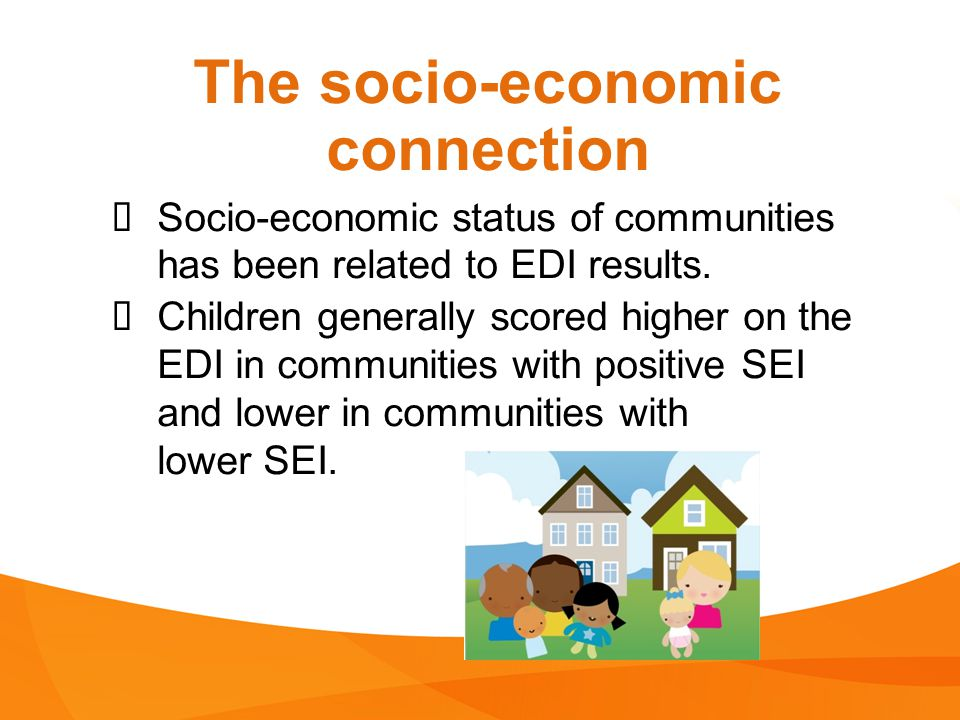 The socio-economic connection