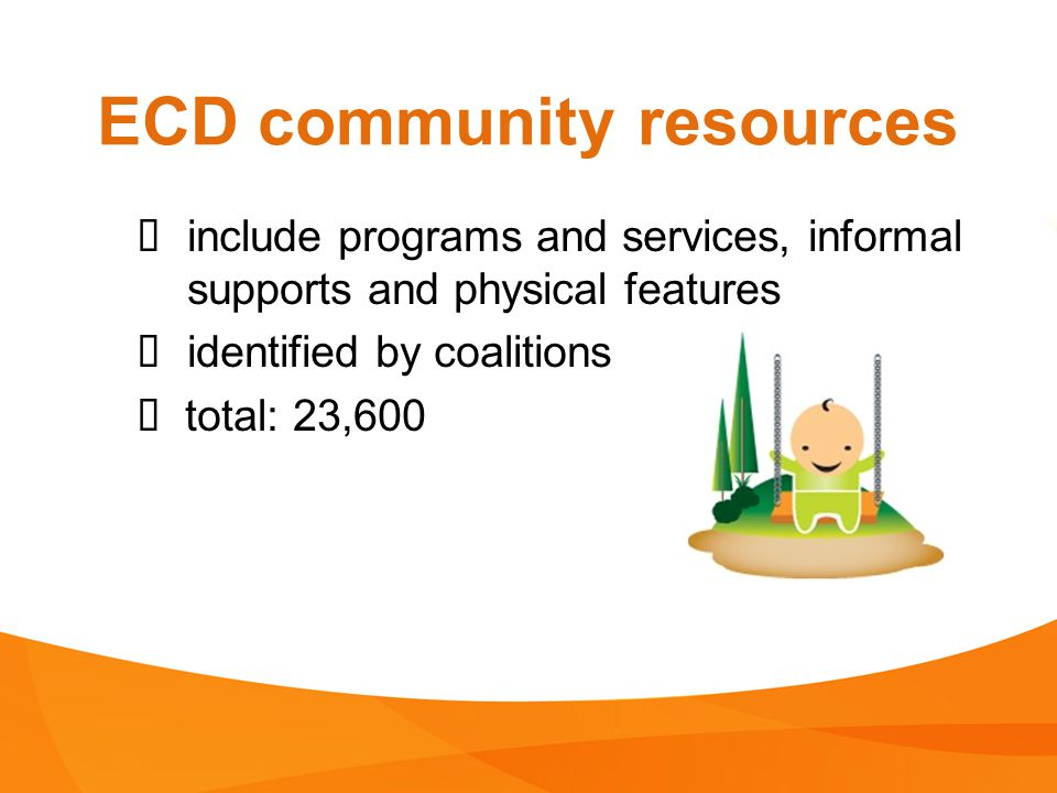 ECD community resources