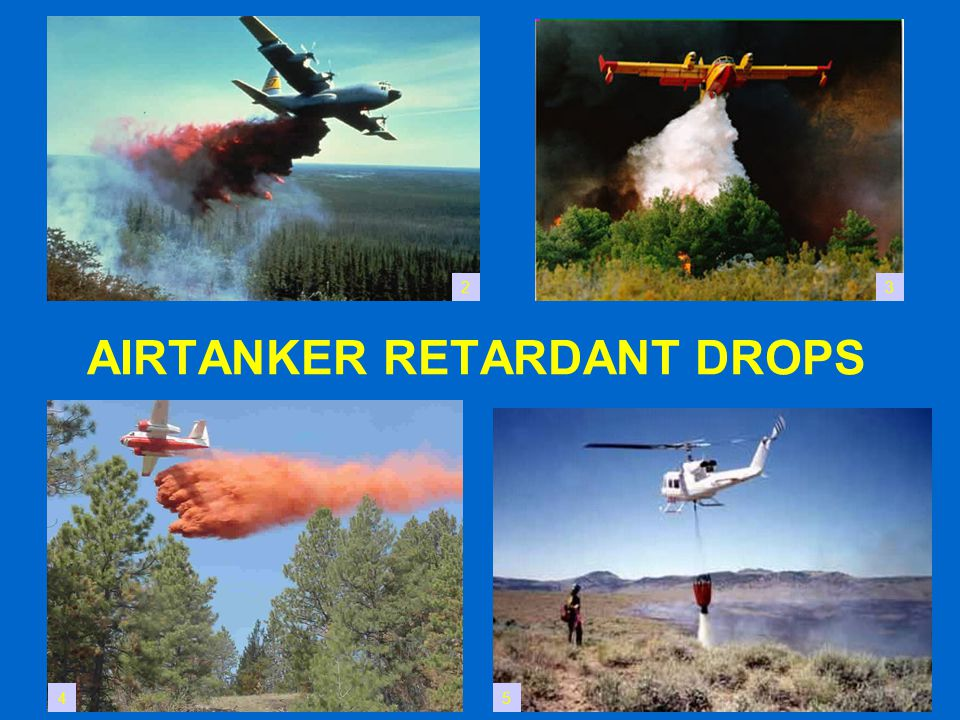 AIRTANKER RETARDANT DROPS