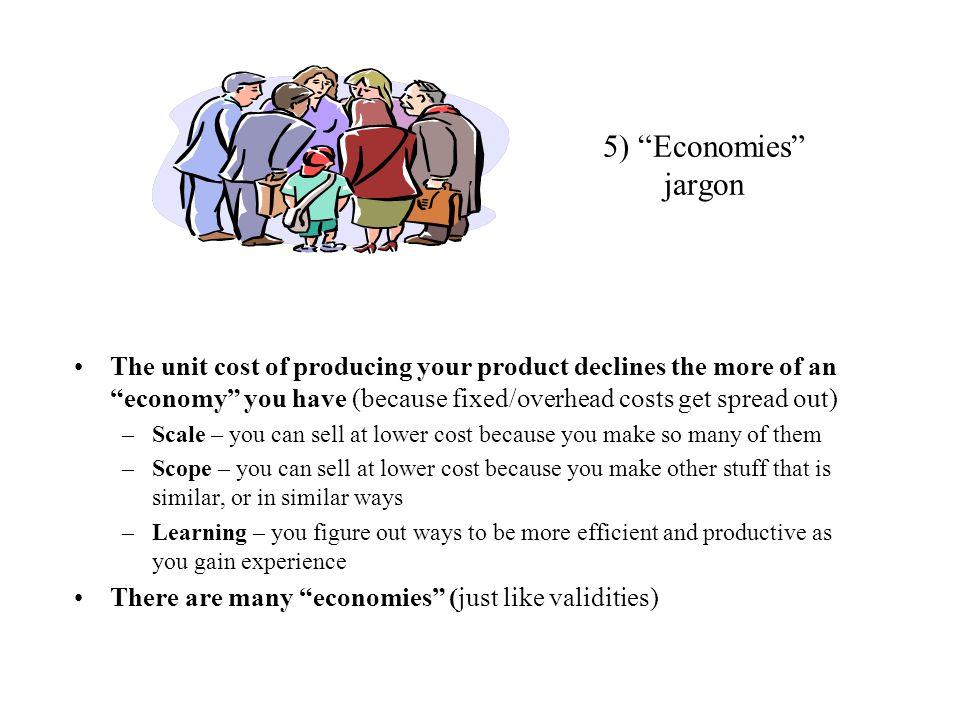5) Economies jargon