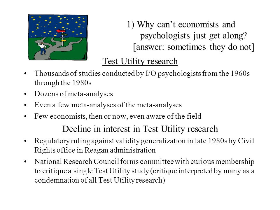 Decline in interest in Test Utility research