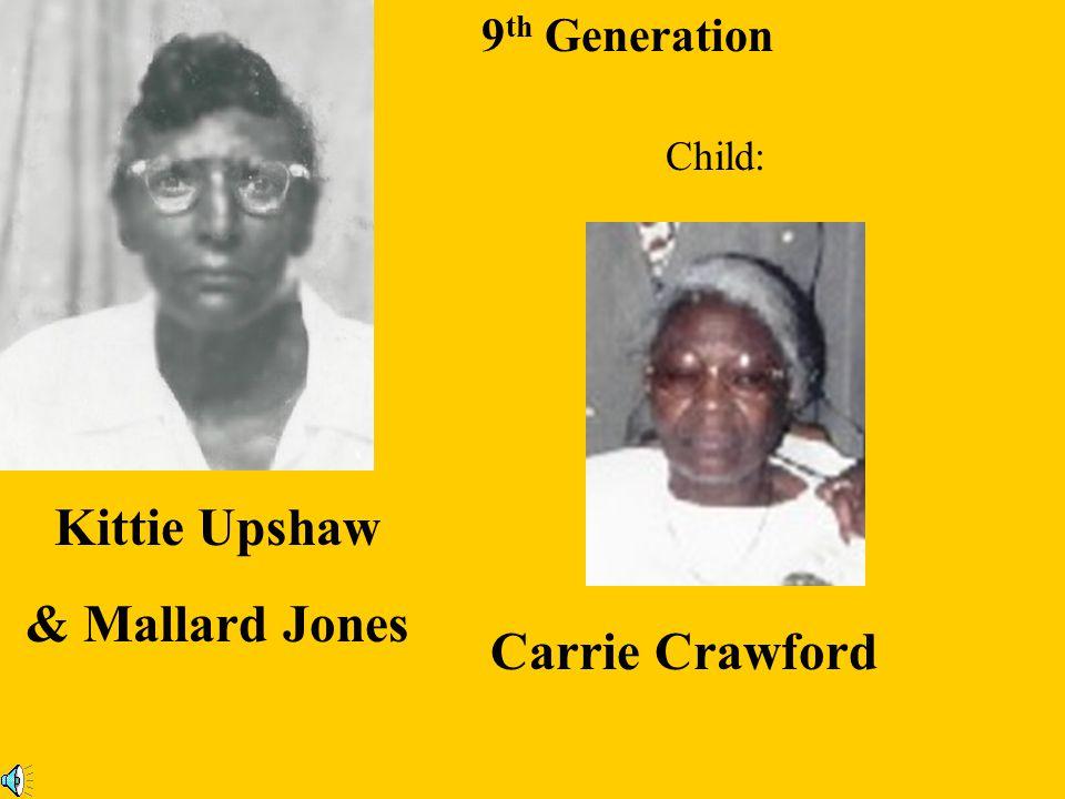 Kittie Upshaw & Mallard Jones