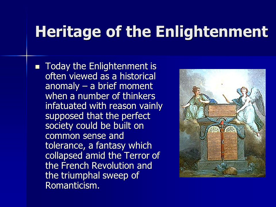 Heritage of the Enlightenment