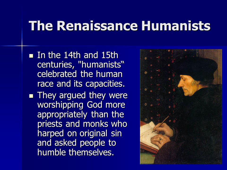 The Renaissance Humanists