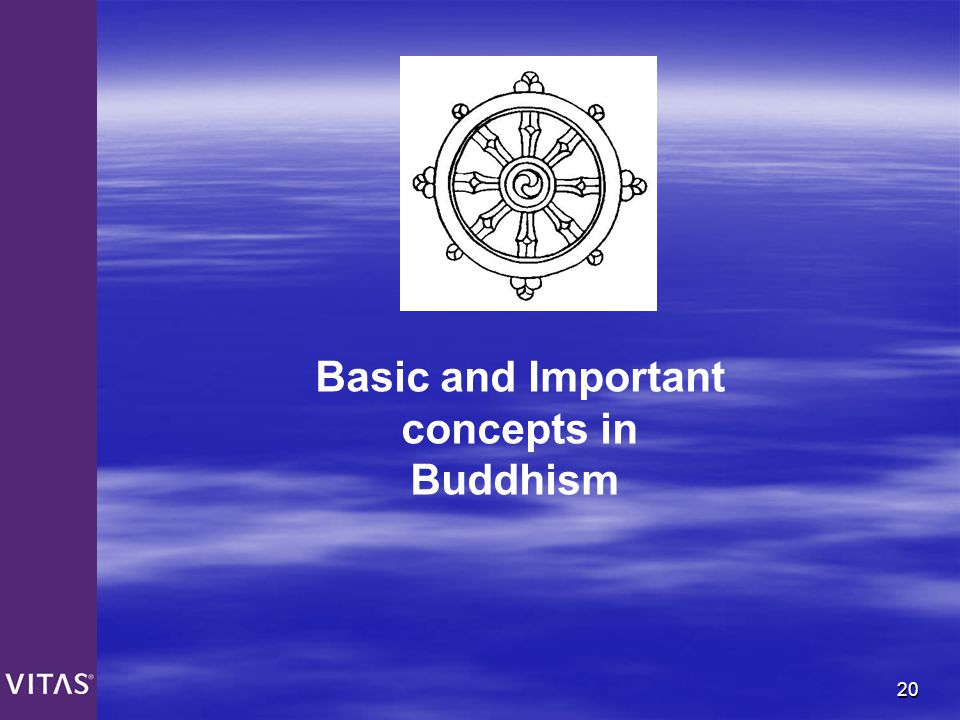 Basic and Important concepts in Buddhism
