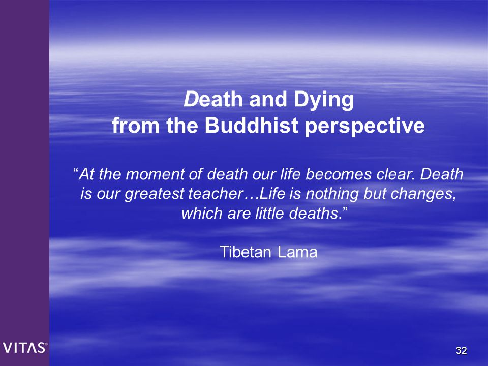 from the Buddhist perspective