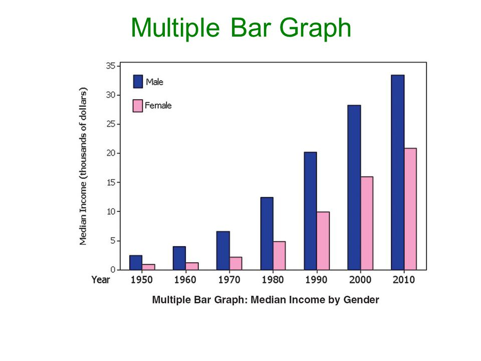 Multiple Bar Graph