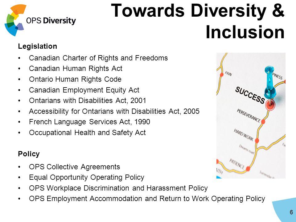 Towards Diversity & Inclusion