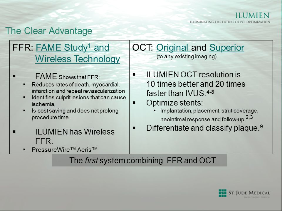 The first system combining FFR and OCT