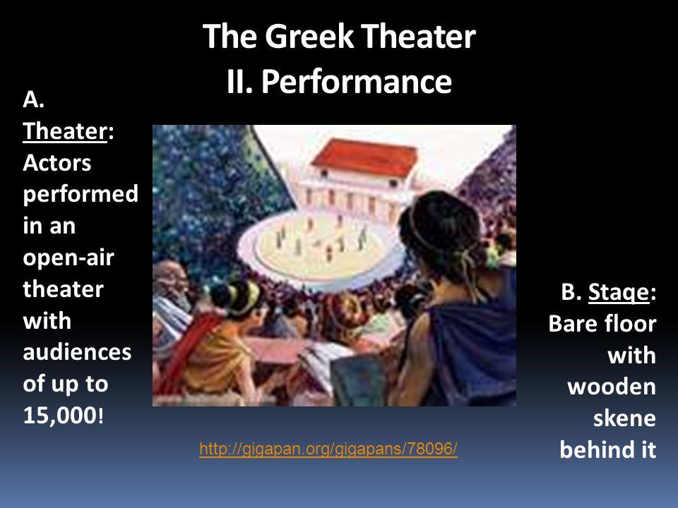 The Greek Theater II. Performance