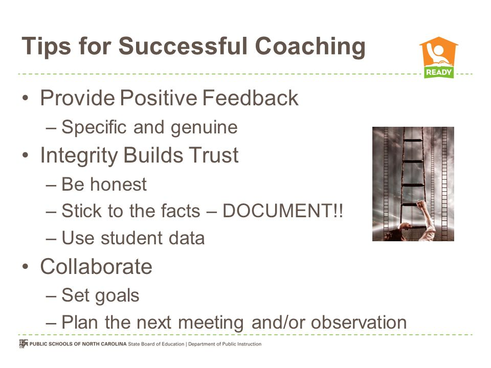 Tips for Successful Coaching