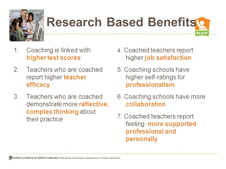 Research Based Benefits