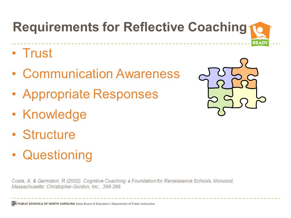 Requirements for Reflective Coaching